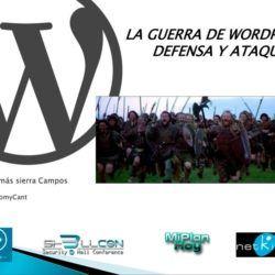 Imagen presentación Parámetros básicos de seguridad en WordPress – WordCamp Cantabria 2015