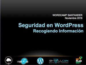 Captura presentanción de Tomás Sierra en la WordCamp Santander 2016