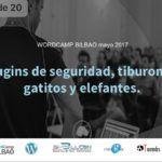 Mi presentación en la WordCamp Bilbao 2017