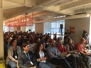 Asistentes, Ponencia Tomás SIerra en la WordCamp Madrid 2017