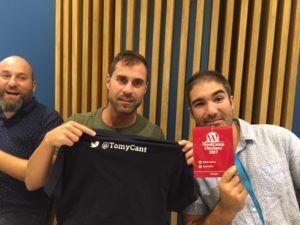 Cena de ponentes WordCamp Chiclana