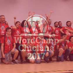 Organización y voluntarios WordCamp Chiclana 2017
