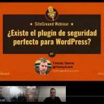 Webinar para Siteground sobre seguridad en WordPress