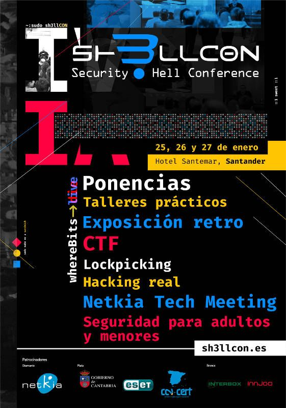 Cartel general Sh3llcon 2018