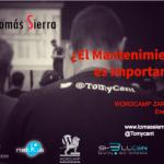 Mi presentación en la WordCamp Zaragoza 2018
