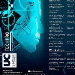 Jornadas de tecnología y programación UCTechPro 2018 en la Universidad de Cantabria