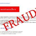 Email Phising del Banco Santander