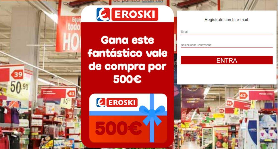 Nuevo phising por email de Eroski