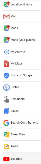 google listado apps c