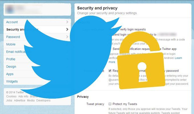 Modifica tu contrasena de Twitter inmediatamente
