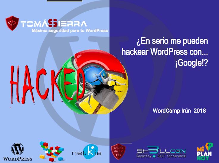 ¿En serio me pueden hackear WordPress con... ¡Google!?