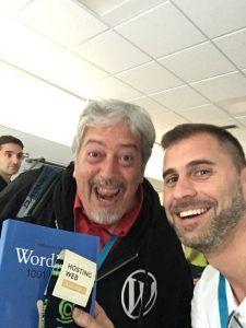 Tomás Sierra y Fernando Tellado WordCAmp Irún 2018