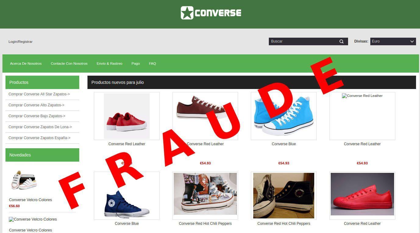 fundegue.es tienda online falsa