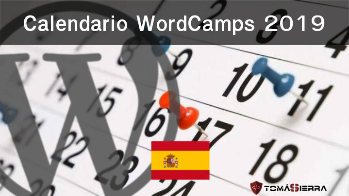 Calendario WordCamps España 2019