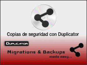 Imagen destacada Duplicator, migración y copias de seguridad para tu WordPress