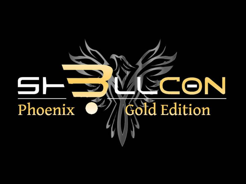 Logo Sh3llCON Phoenix - Gold Edition