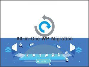 Copia de seguridad de WordPress con All in One WP Migration