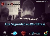 Presentacion Alta Seguridad en WordPress Hack and Sec