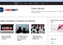Fakeinet.com Estafas Y Tiendas Falsas De Internet