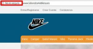 http - Tienda online falsa suplantando laboratorioblesa.es