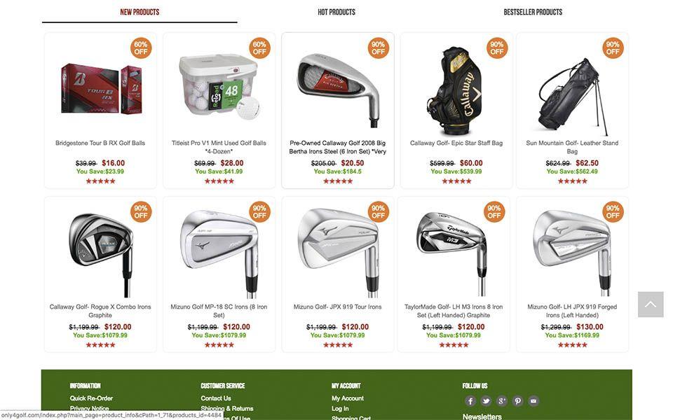 productos - only4golf.com otra tienda falsa