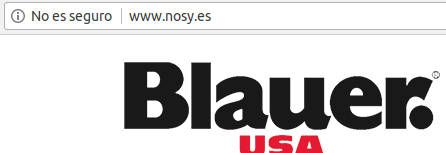 ssl - nosy.es otra tienda online falsa