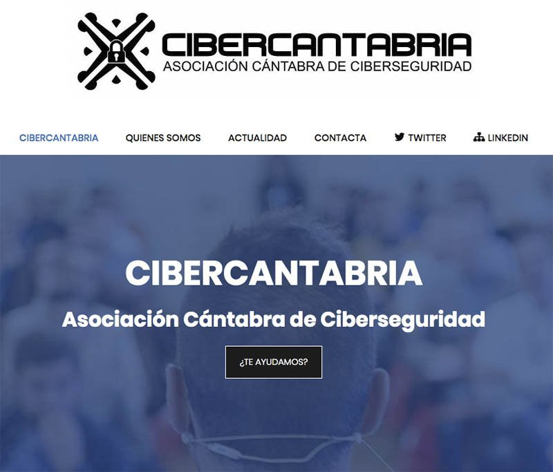 Captura Web Cibercantabria